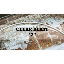 New Blast Single Ply Clear Kick With Deadening Ring 22""