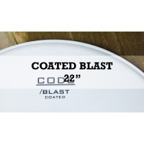 """New Blast Single Ply Coated Kick With Clear Dampening Ring 22"""""""