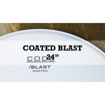 New Blast Single Ply Coated Kick With Deadening Ring 24""