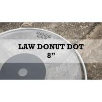 "Law Single Ply Clear Black Dot 10 Mils 8"""
